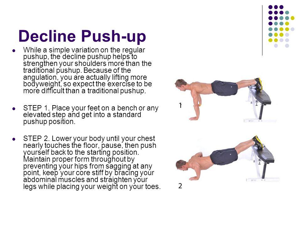Decline Push-up