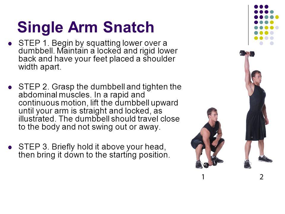 Single Arm Snatch