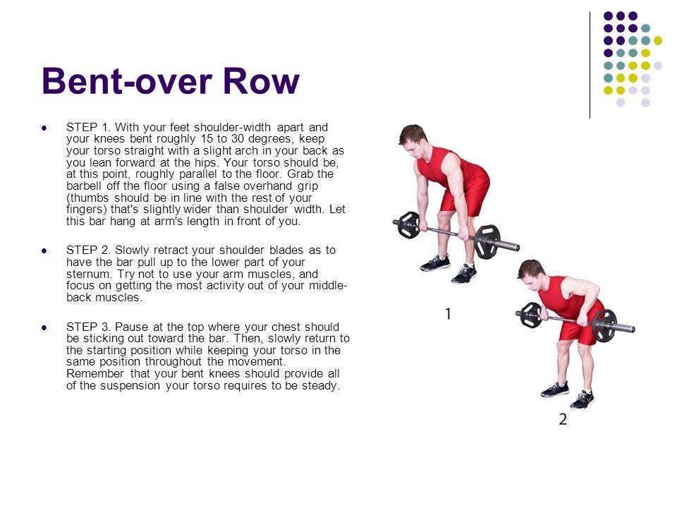 Bent-over Row