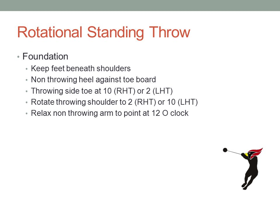 Rotational Standing Throw