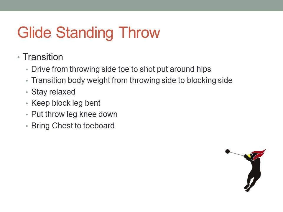 Glide Standing Throw Transition