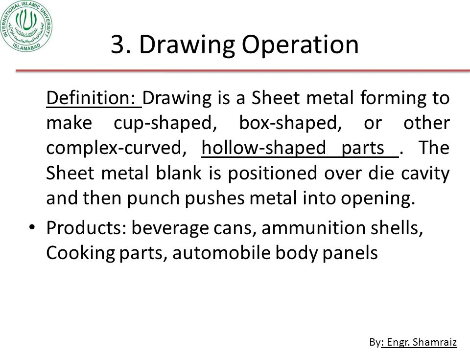3. Drawing Operation