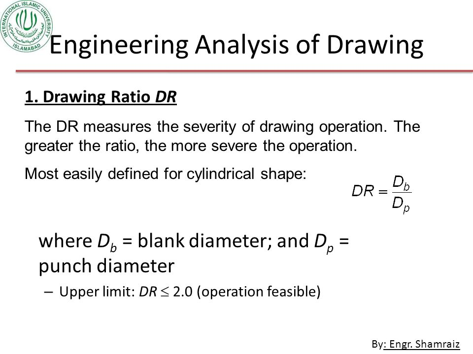 Engineering Analysis of Drawing