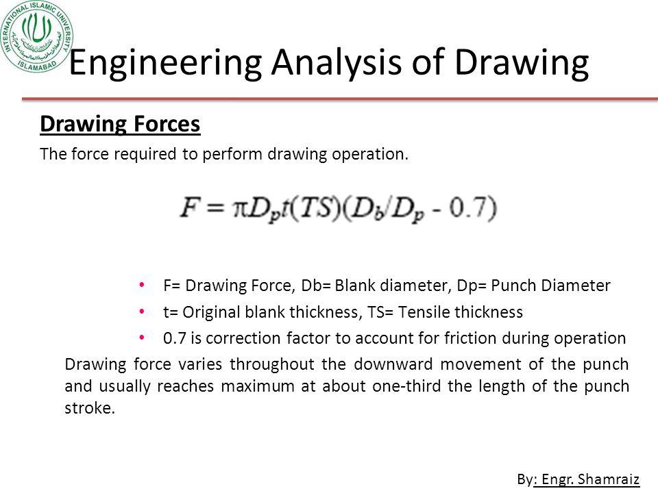 Engineering Analysis of Drawing