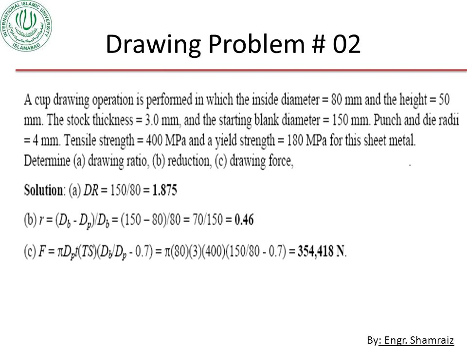 Drawing Problem # 02