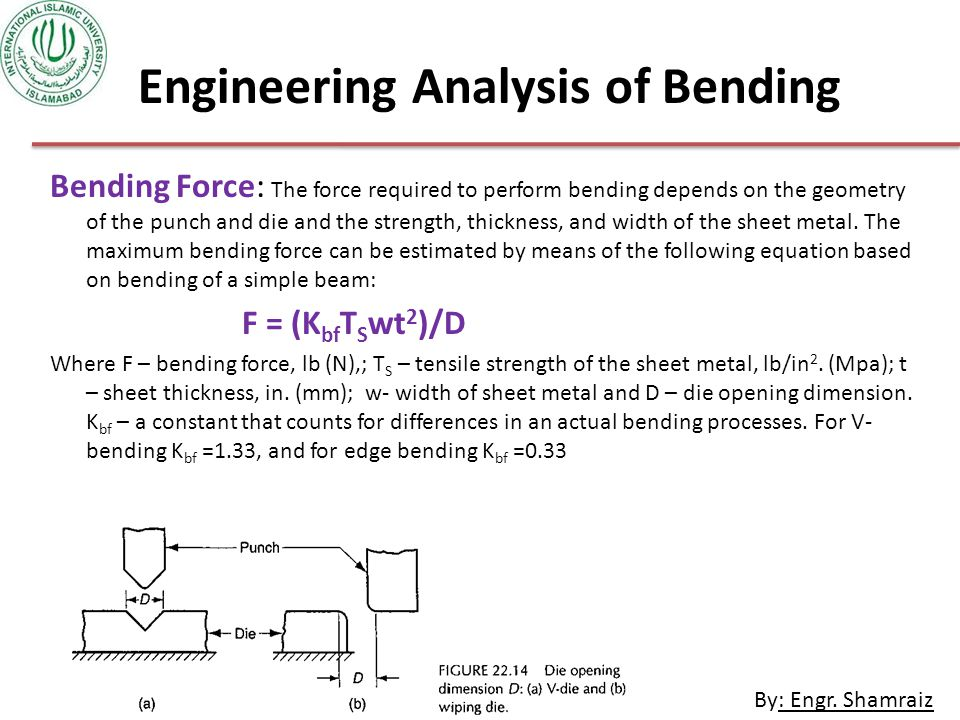 Engineering Analysis of Bending
