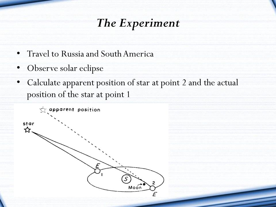 The Experiment Travel to Russia and South America