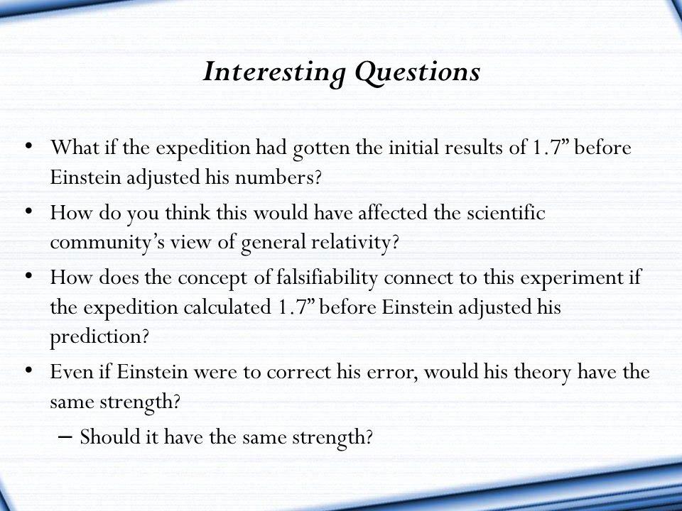 Interesting Questions