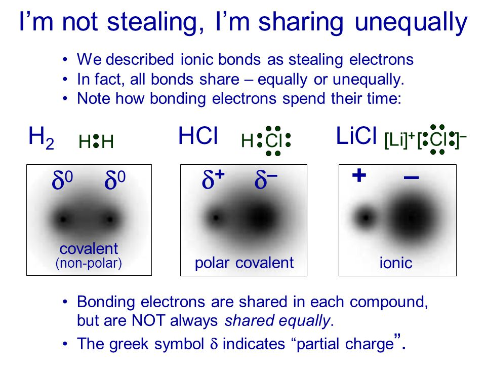 I'm not stealing, I'm sharing unequally