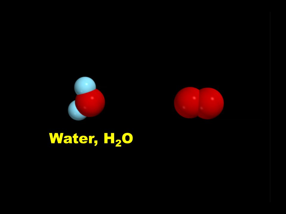 Water, H2O