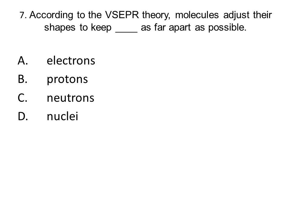A. electrons B. protons C. neutrons D. nuclei