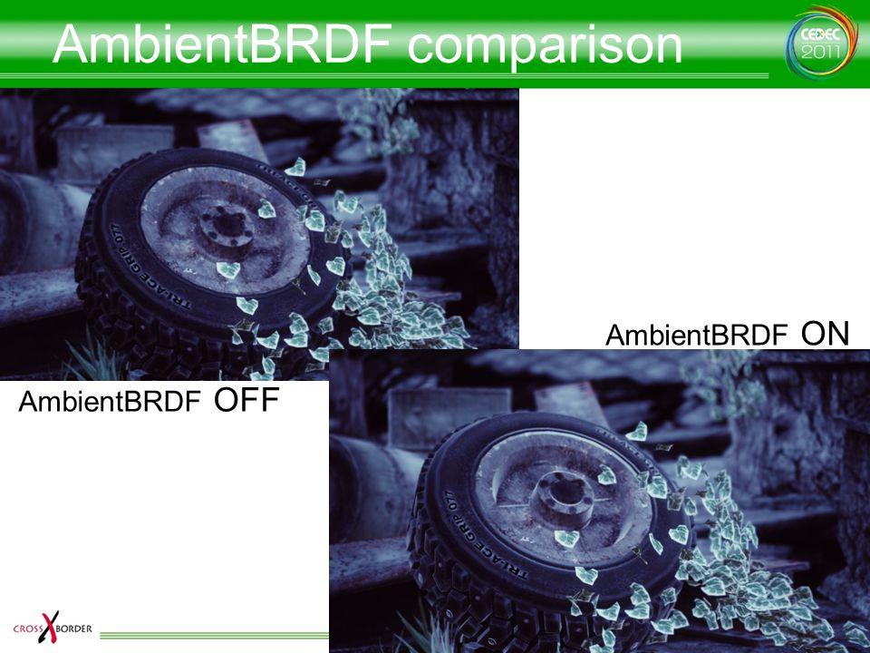 AmbientBRDF comparison