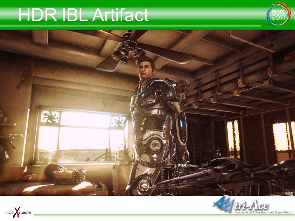 HDR IBL Artifact