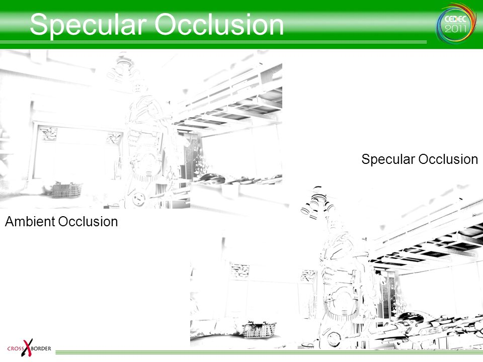 Specular Occlusion Specular Occlusion Ambient Occlusion