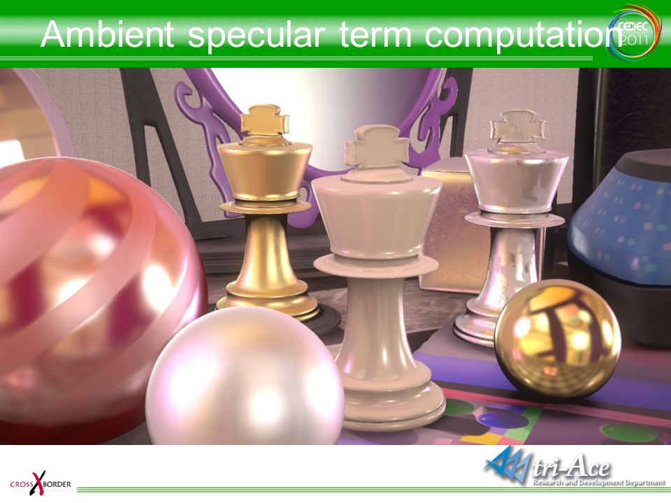 Ambient specular term computation