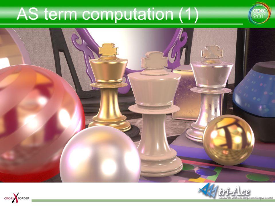 AS term computation (1)