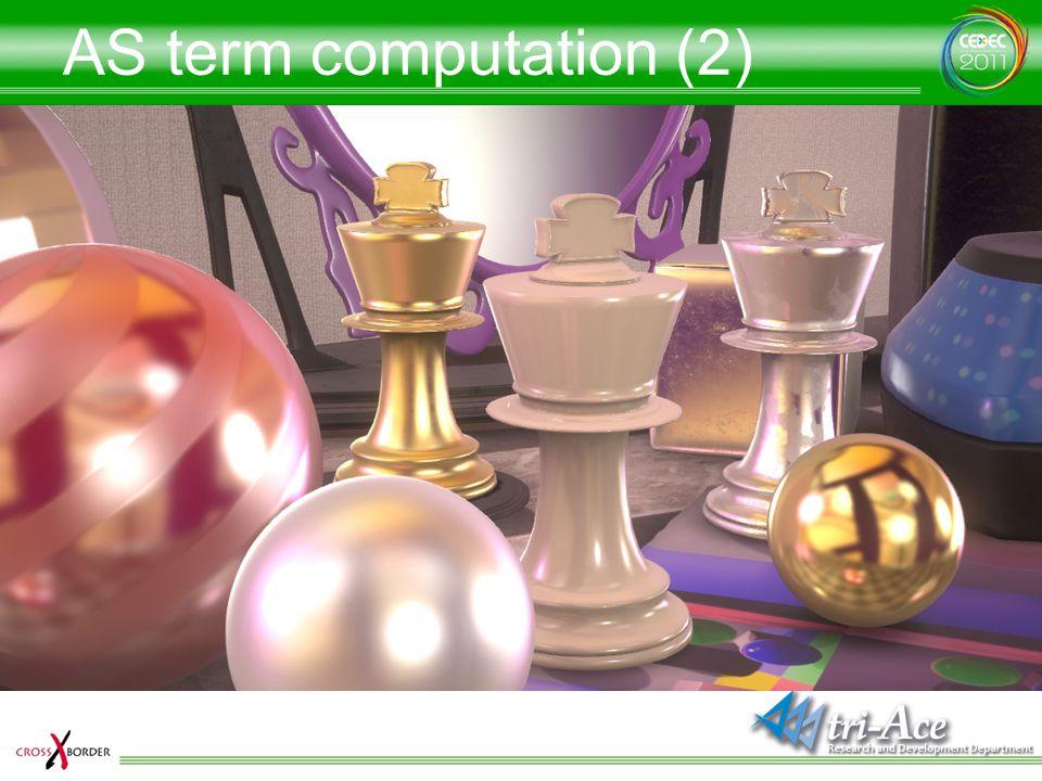 AS term computation (2)