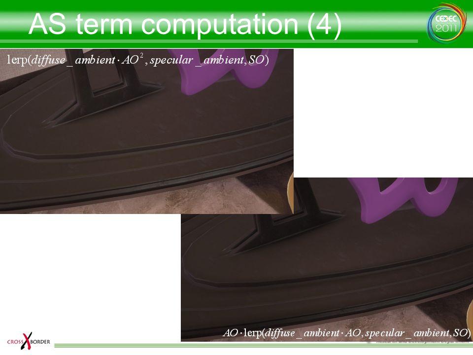 AS term computation (4)