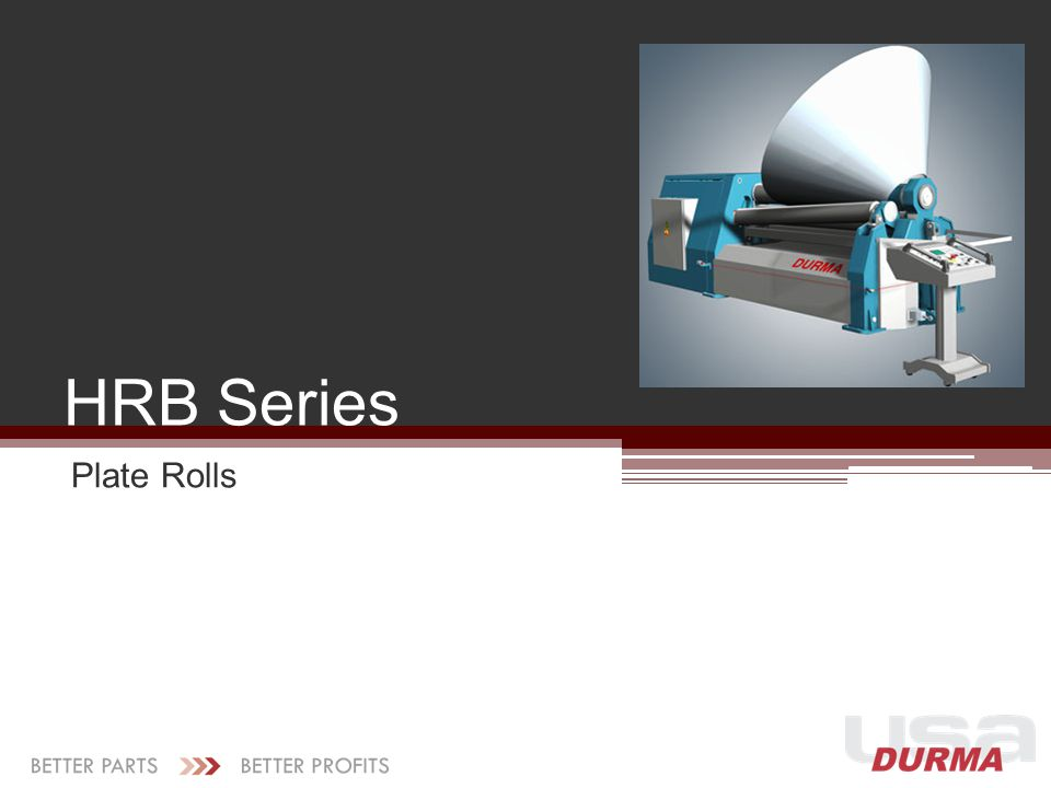HRB Series Plate Rolls