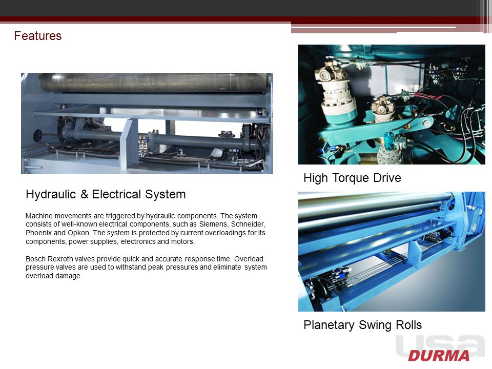 Hydraulic & Electrical System
