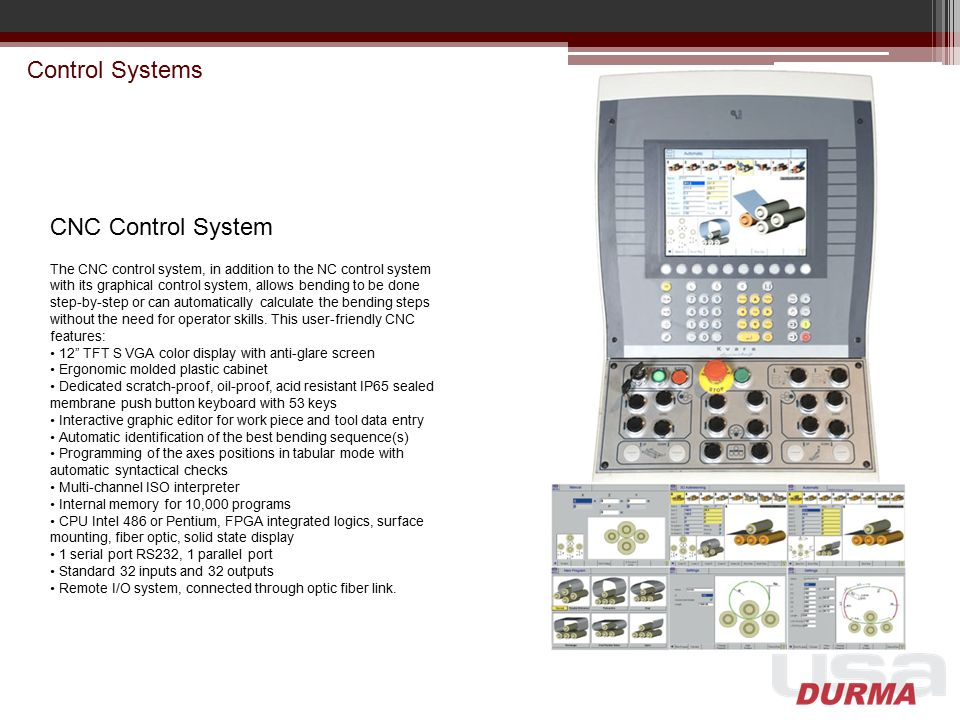 Control Systems CNC Control System