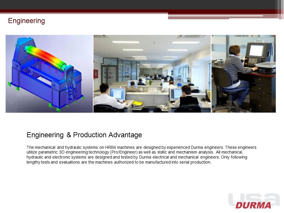 Engineering & Production Advantage