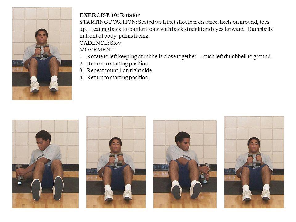 EXERCISE 10: Rotator