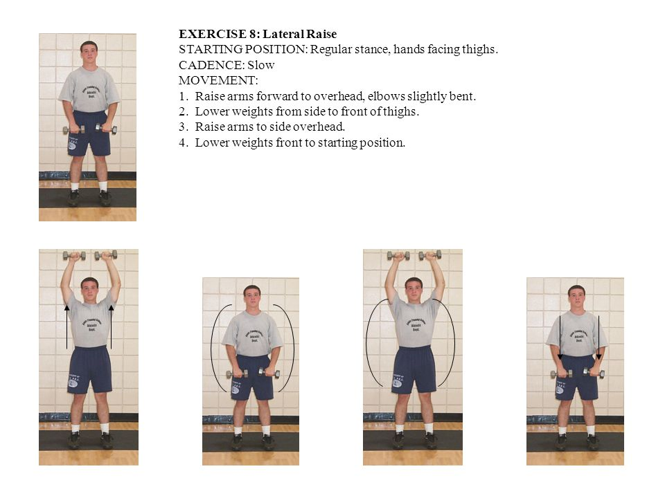 EXERCISE 8: Lateral Raise