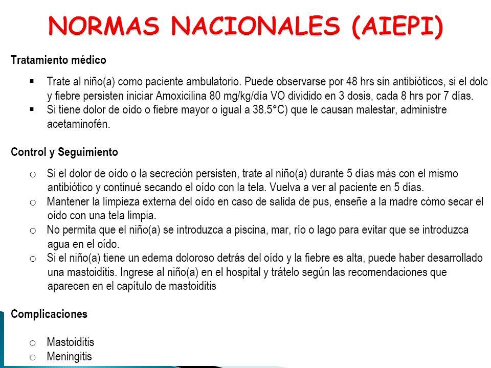 NORMAS NACIONALES (AIEPI)
