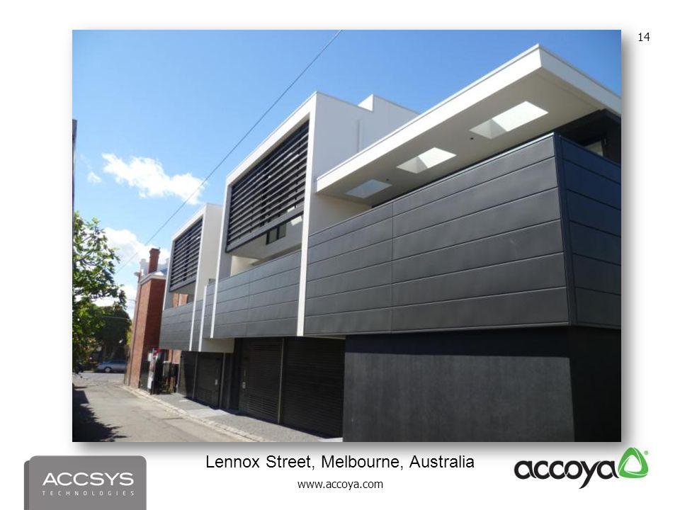 Lennox Street, Melbourne, Australia