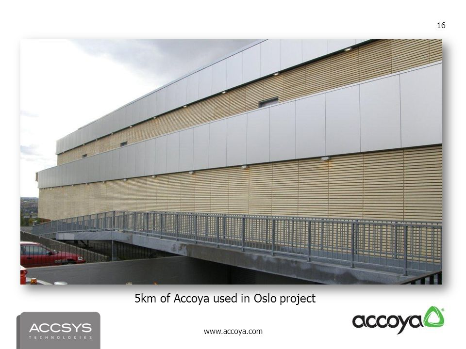 5km of Accoya used in Oslo project
