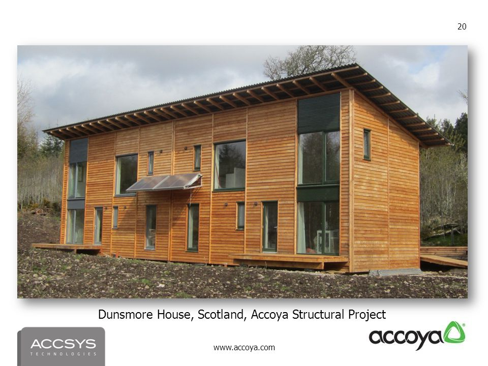 Dunsmore House, Scotland, Accoya Structural Project