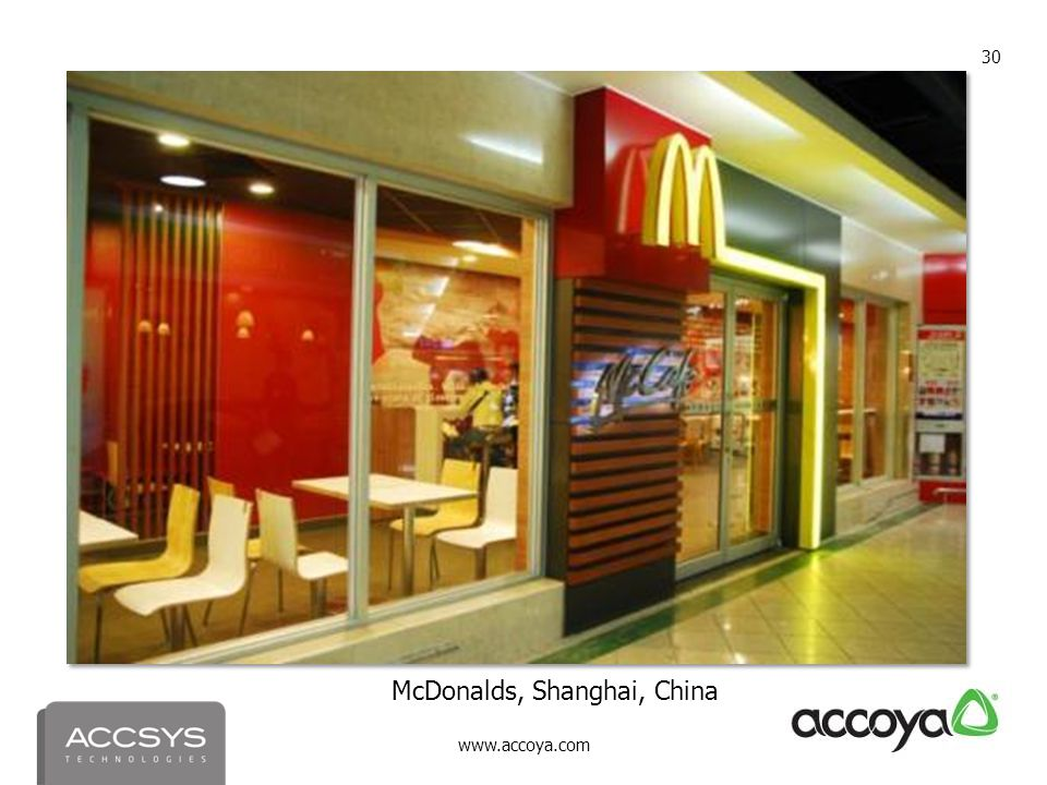 McDonalds, Shanghai, China