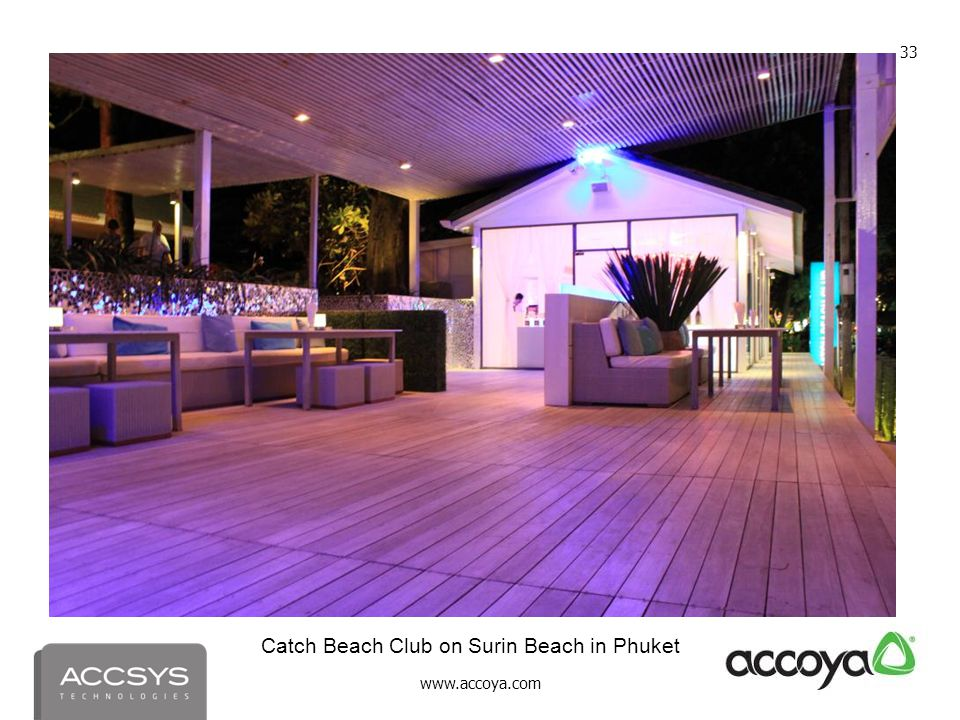 Catch Beach Club on Surin Beach in Phuket