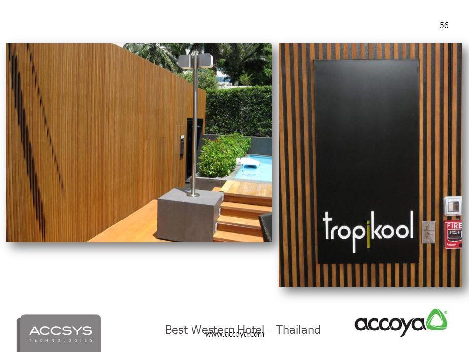 Best Western Hotel - Thailand