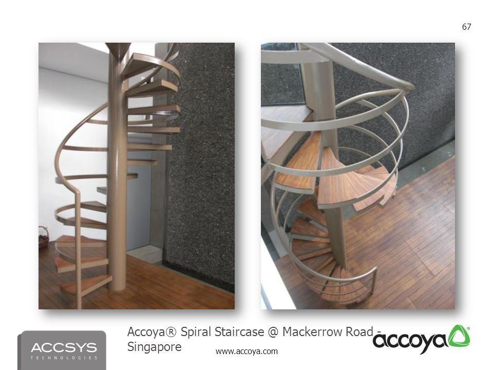 Accoya® Spiral Staircase @ Mackerrow Road - Singapore