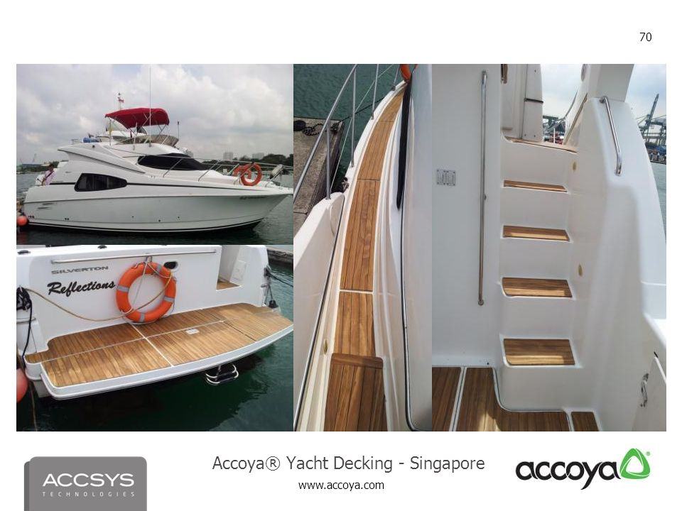 Accoya® Yacht Decking - Singapore