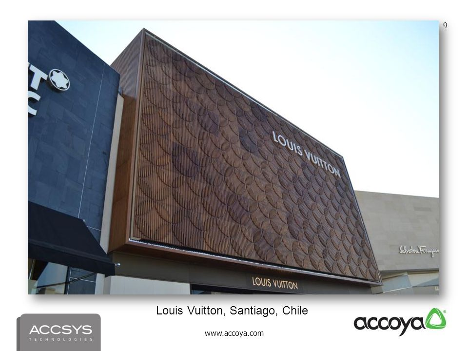 Louis Vuitton, Santiago, Chile