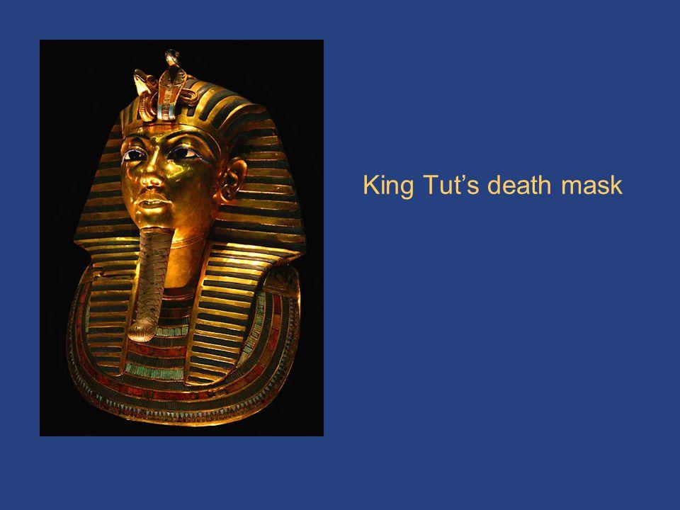 King Tut's death mask