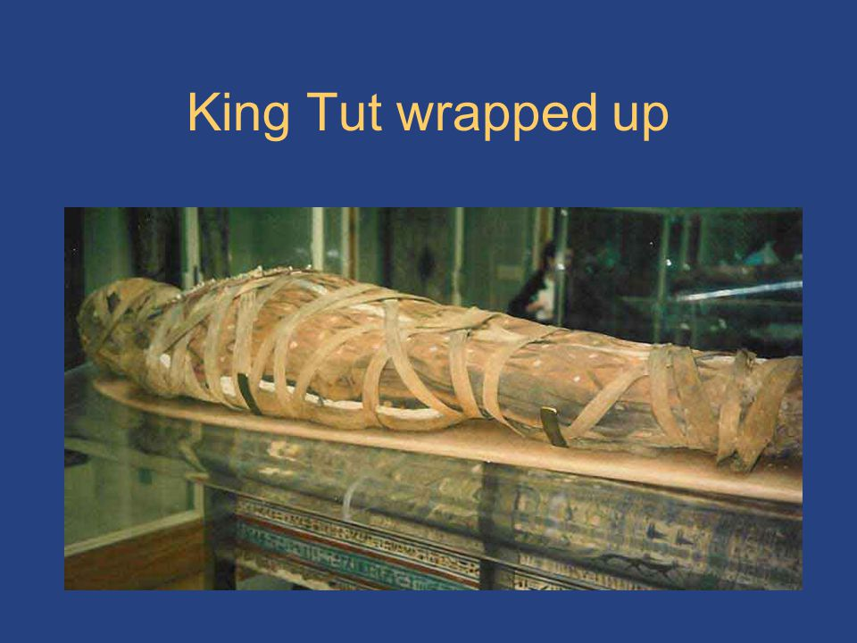 King Tut wrapped up