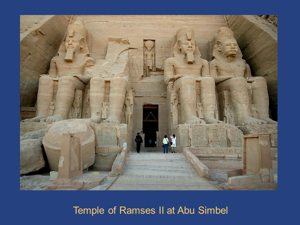 AbuSimbel 1 Temple of Ramses II at Abu Simbel