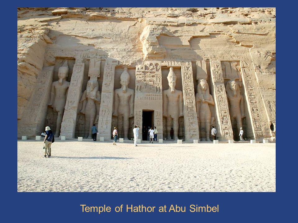 Temple of Hathor Temple of Hathor at Abu Simbel