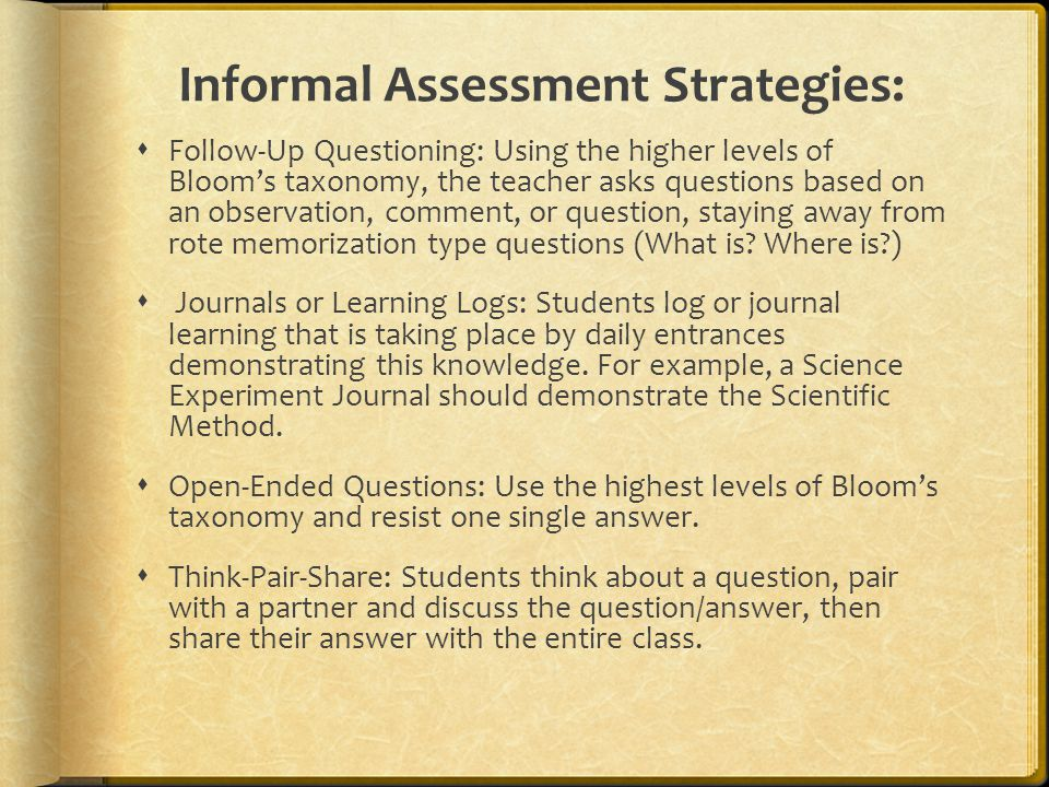 Assessing Learning In The Gifted Classroom - Ppt Video Online Download