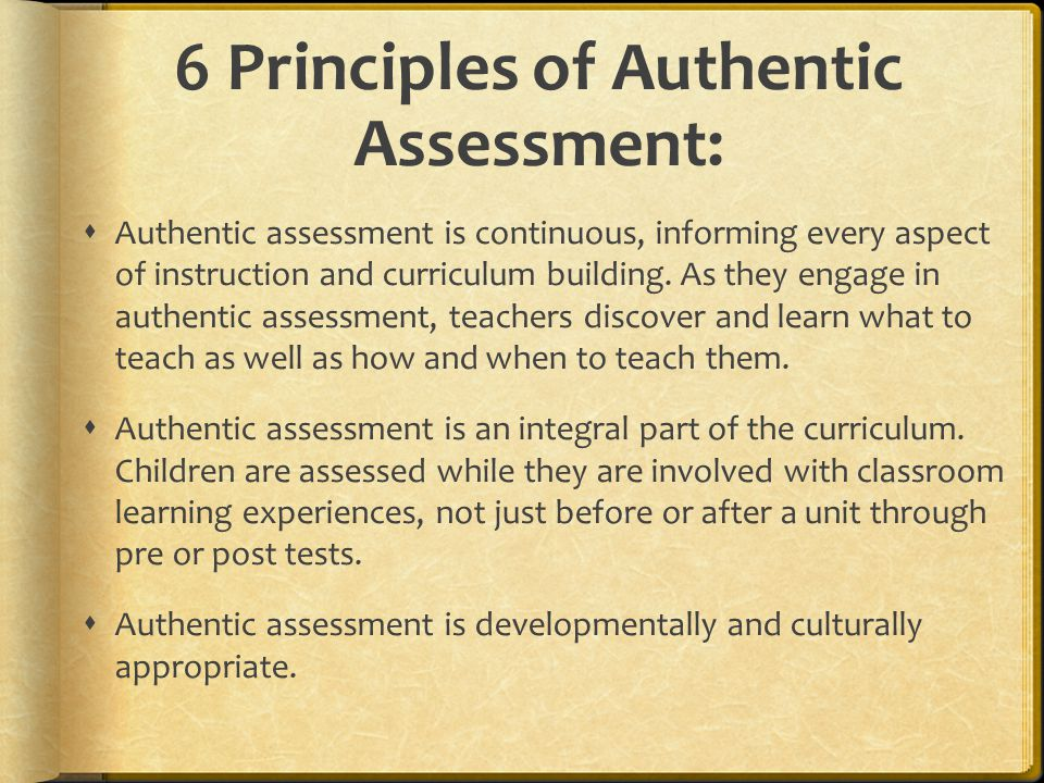 principles of classroom assessment pdf