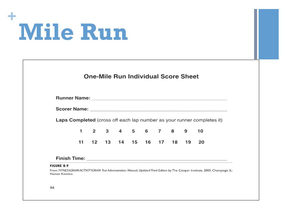 Mile Run