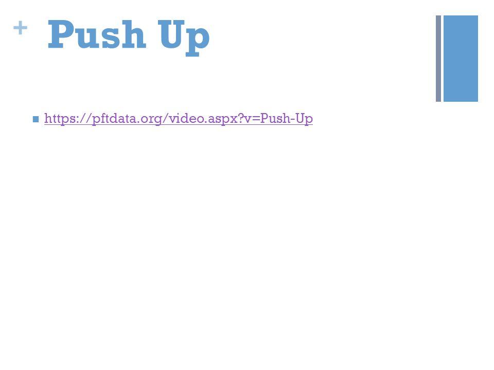 Push Up https://pftdata.org/video.aspx v=Push-Up