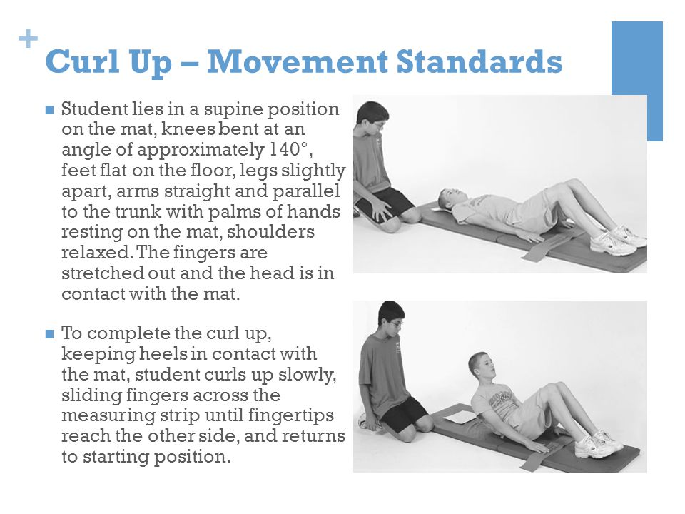 Curl Up – Movement Standards