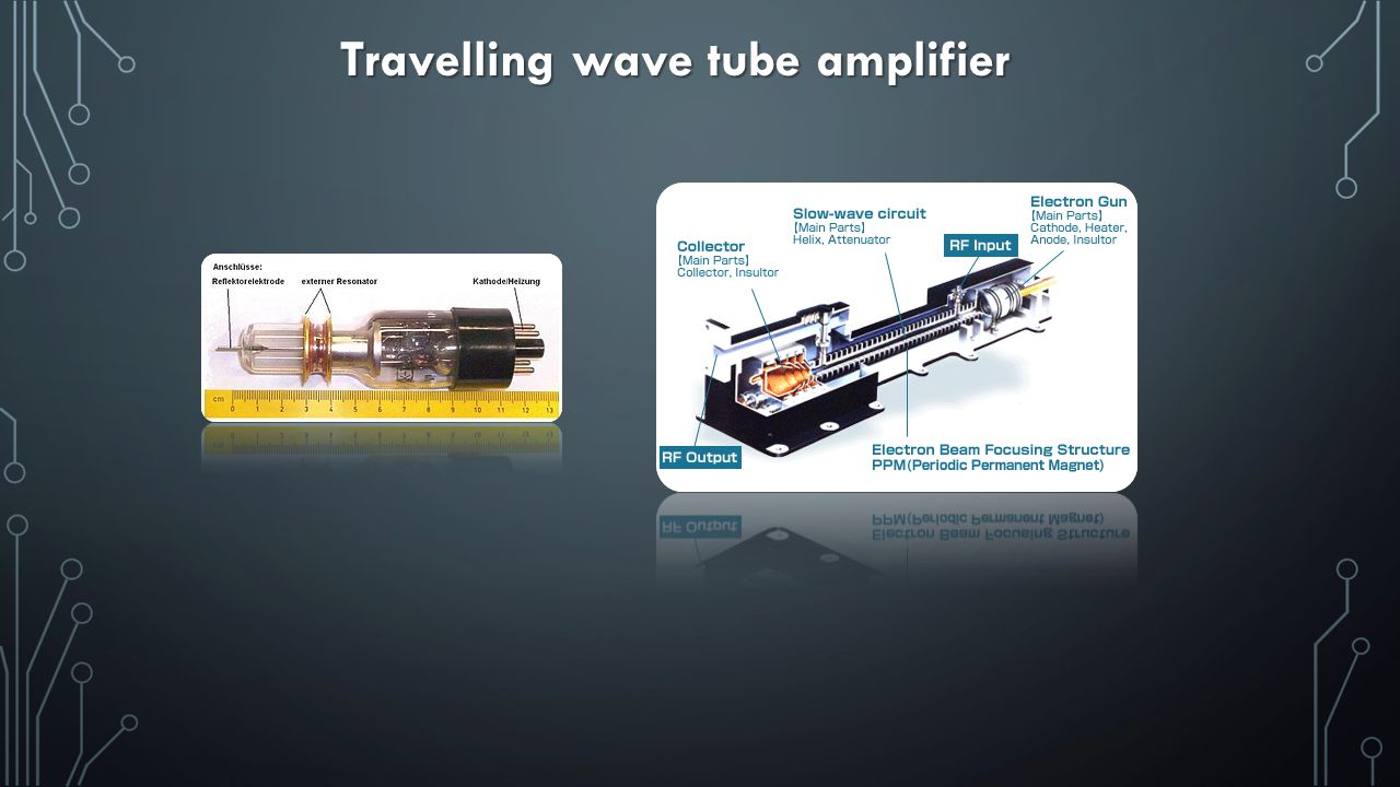 Travelling wave tube amplifier