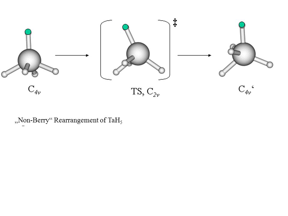 """Non-Berry Rearrangement of TaH5"