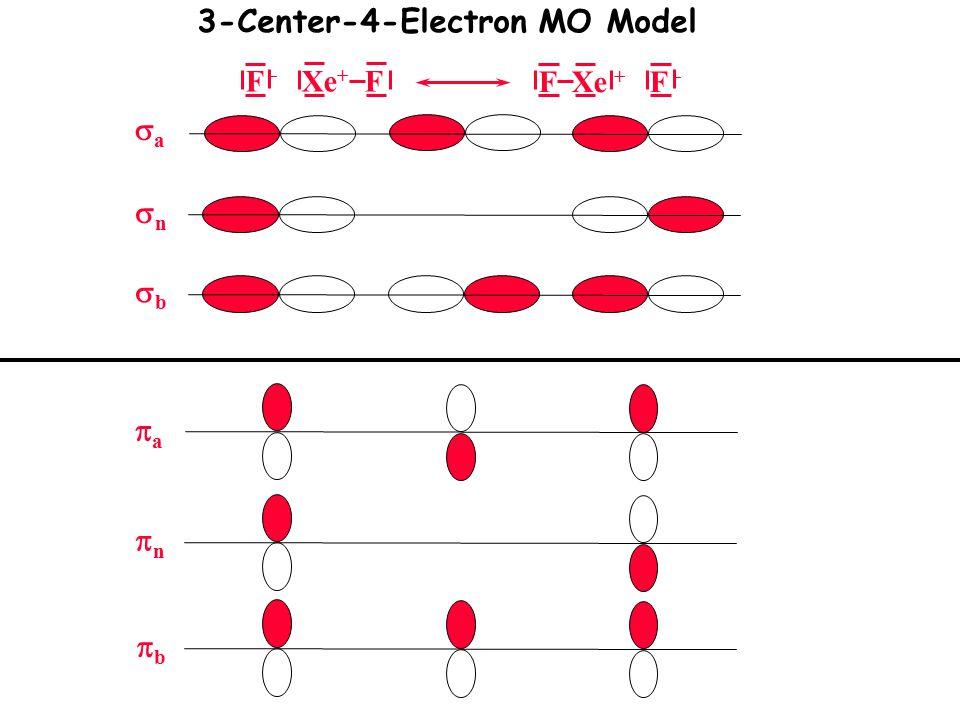 3-Center-4-Electron MO Model